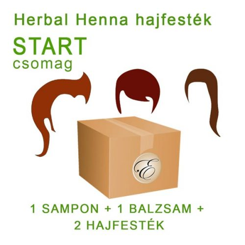 henna hajfesték csomag